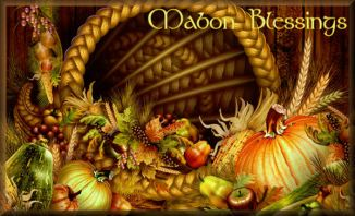 It's coming up fast!  Here is my Mabon Newsletter:  http://1drv.ms/1fG2Nem