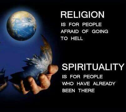 Religion v Spirituality