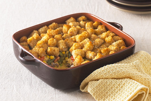 Tater Tots Topped Casserole