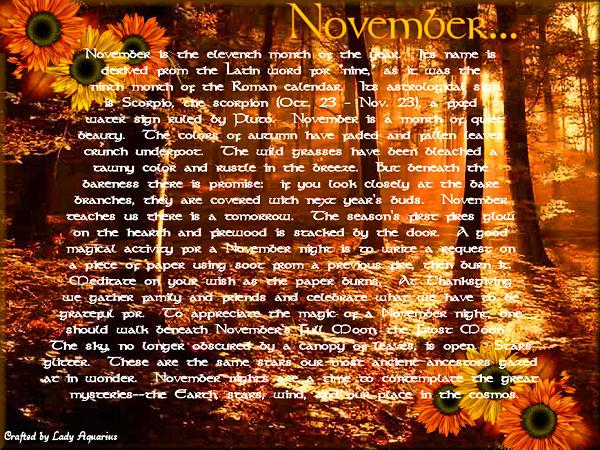 Pagan Calendar.Pagan Calendar November 1 2016 Solitary Witchin Life And